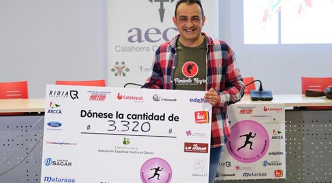 """Más de 3.000€ recaudados en el reto de Juantxo Garcia Otxoa """"Avanzamos contra el cáncer"""""""
