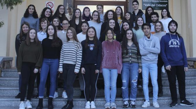 Ponencias específicas en el IES Valle del Cidacos para los alumnos del Bachillerato de Excelencia