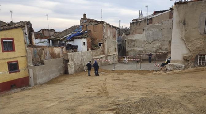 Finalizada la intervención en el ámbito de las calles Curruca, Zoquero y Villodas