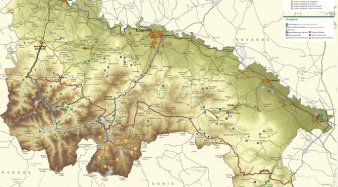 El Gobierno de La Rioja nos invita a caminar gracias a este nuevo folleto sobre la Red de Senderos de La Rioja