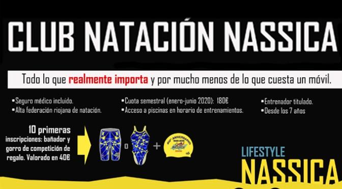 """Bajo el lema """"para lo que de verdad importa"""" el club NASSICA natación lanza su campaña de captación de nadadores"""