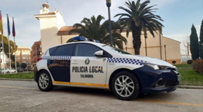 La Policía Local de Calahorra realiza mas de 400 actuaciones relacionadas con el estado de alarma