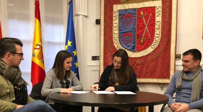 Yolanda Marín, es la nueva técnico de servicios culturales del Ayuntamiento de Calahorra
