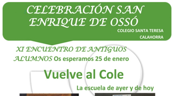 CELEBRACIÓN SAN ENRIQUE DE OSSO COLEGIO SANTA TERESA