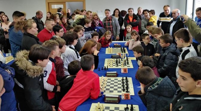 Más de Cuatrocientas partidas en el Torneo de ajedrez Ribera del Ebro
