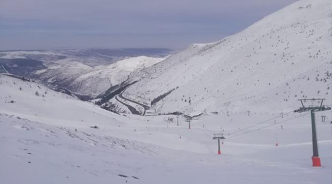Valdezcaray abrirá sus instalaciones y servicios para la práctica del esquí este sábado 25 de enero