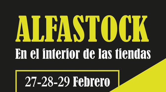 Alfaro está de Alfastock