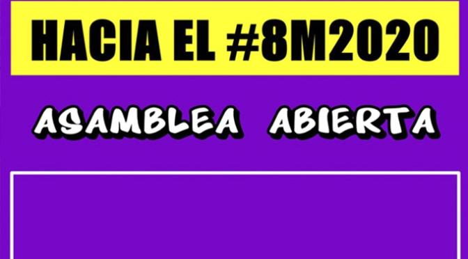 Asamblea abierta hacia el #8M2020