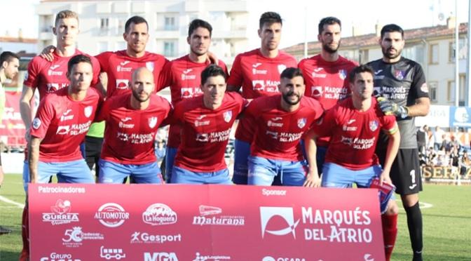 El Burgos CF SAD goleó al CD Calahorra en La Planilla
