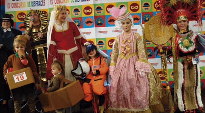IX Concurso infantil de disfraces Eroski Calahorra