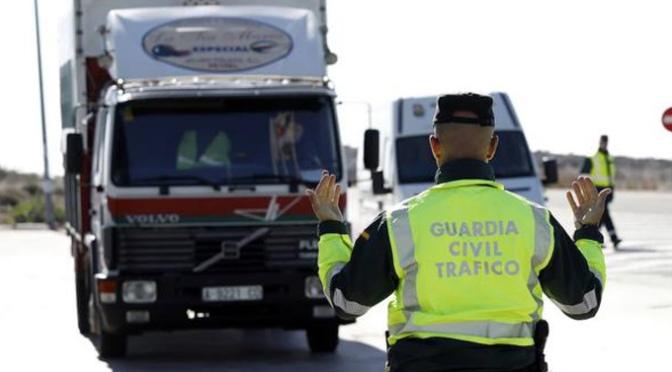 Campaña especial de control de camiones y autobuses durante esta semana