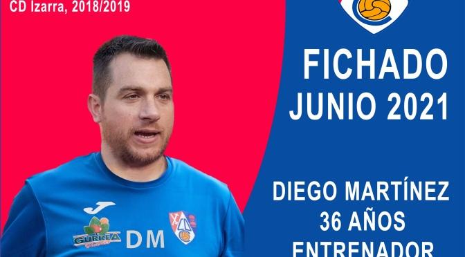 El logroñés Diego Martínez Ruiz nuevo entrenador del CD Calahorra