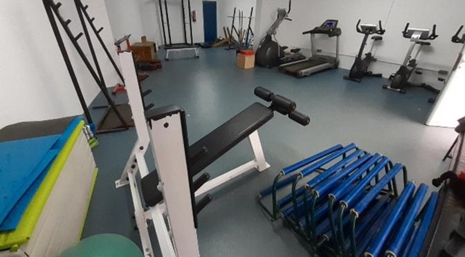 Mejoran las instalaciones del gimnasio de las pistas de atletismo