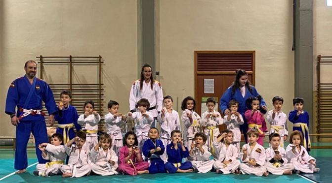 100 Judokas participaron en la primera jornada de Judo de los juegos deportivos de La Rioja