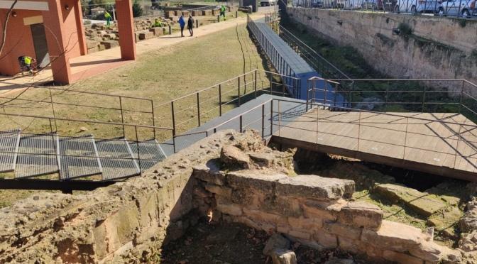 Limpieza y adecuación de los yacimientos romanos de la Clínica y Murallas