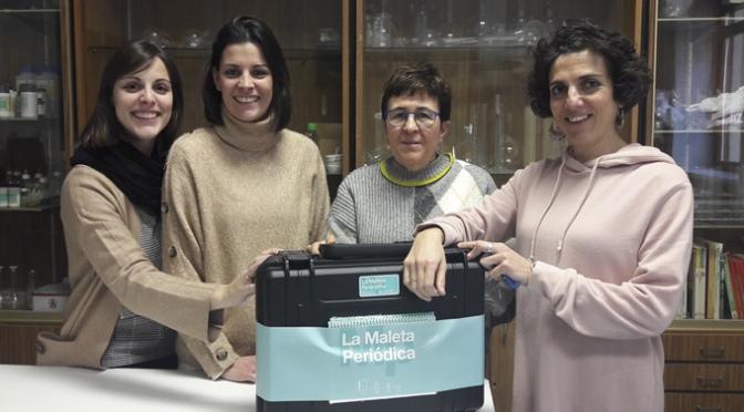 """El Colegio Santa Teresa elegido para participar en """"La maleta periódica"""""""
