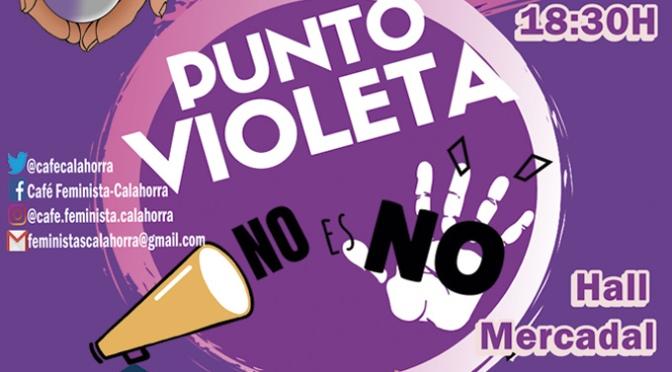 """Punto Violeta """" Por unas fiestas libres de agresiones sexistas"""""""