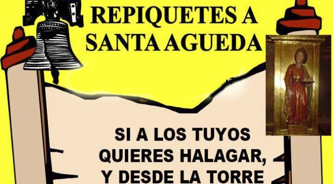 Tradicionales Repiquetes a Santa Águeda hoy Martes 4 de Febrero en Autol