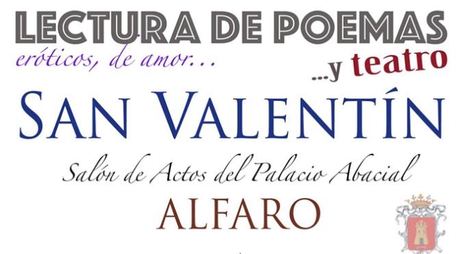 RECITAL DE POESIA, CANCIONES… Y TEATRO, por SAN VALENTÍN