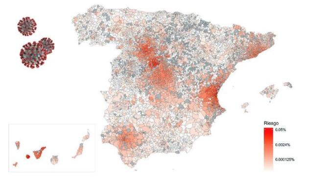 La Rioja, junto con Vitoria – La Bastida y Madrid, zonas de transmisión siginificativa