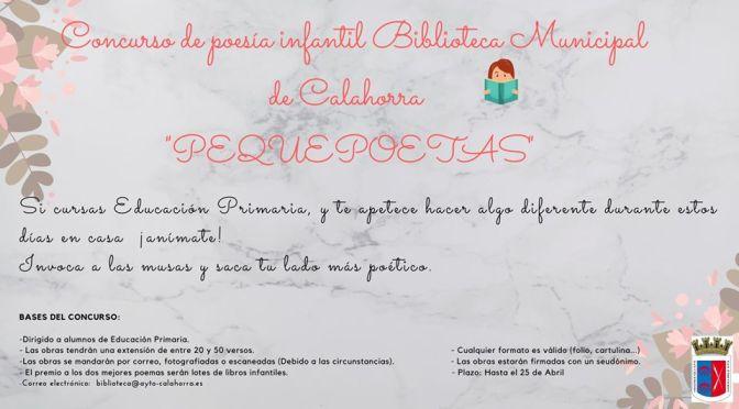 La Biblioteca de Calahorra lanza un concurso de poesía para alumnos de primaria
