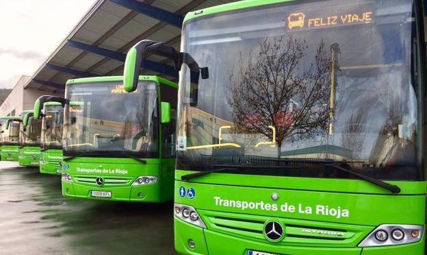 Se restablecen los horarios y frecuencias del servicio de transporte de viajeros en La Rioja