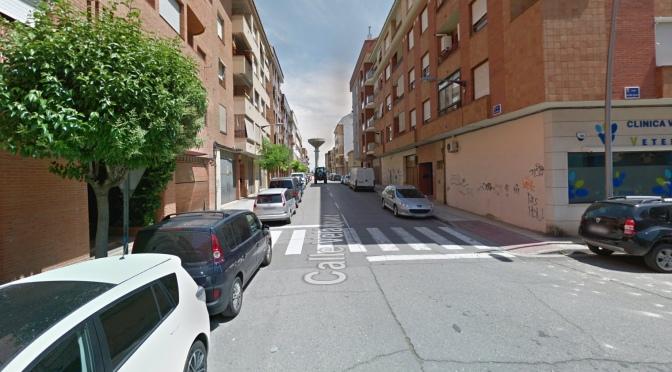 Comienzan las obras de la calle Velázquez de Calahorra