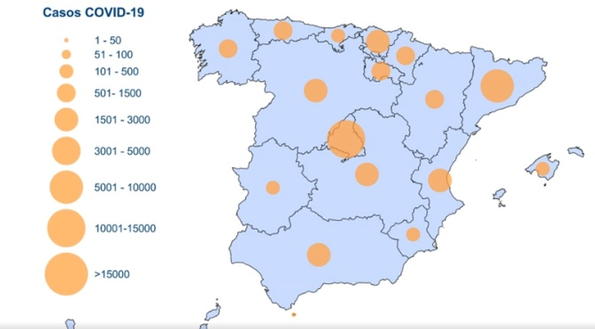 Datos sobre #Coronavirus en España, desde el primer caso inicial, actualizados