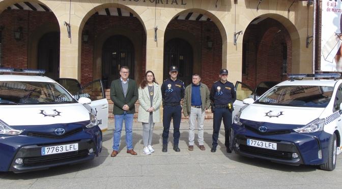 La Policía Local de Calahorra renueva su flota de vehículos