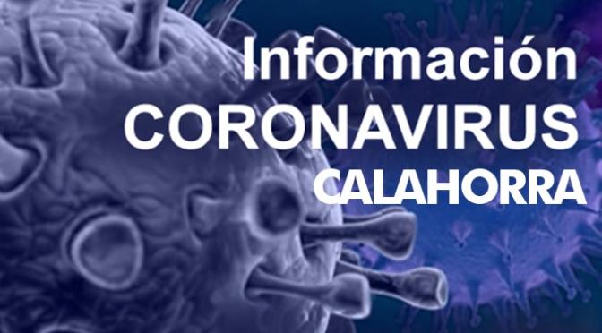 Medidas del Ayuntamiento de Calahorra de contención reforzadas frente al Covid-19