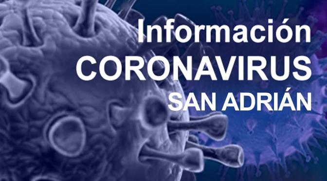 El Ayuntamiento de San Adrián toma medidas frente al COVID-19