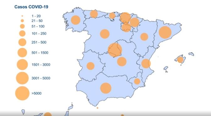 Las cifras en España aumentan: 1.326 fallecidos y 24.926 infectados por Coronavirus