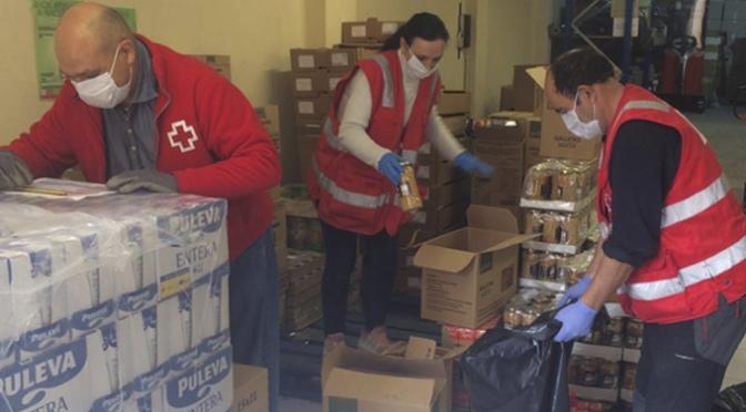 Cruz Roja en La Rioja distribuye más de 118.000 kilos de alimentos