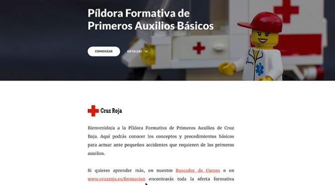 Cruz Roja envía un curso online de primeros auxilios a 300 empresas de la rioja