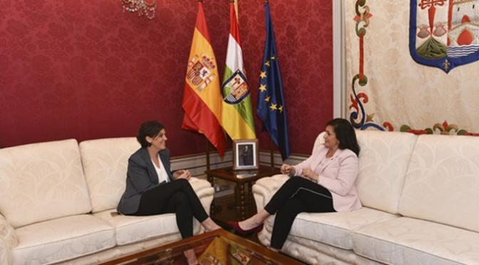 Primer encuentro institucional entre Andreu y Marrodán