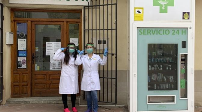 El Colegio Oficial de Farmacéuticos proporciona máscarillas para las personas que trabajan en las farmacias riojanas