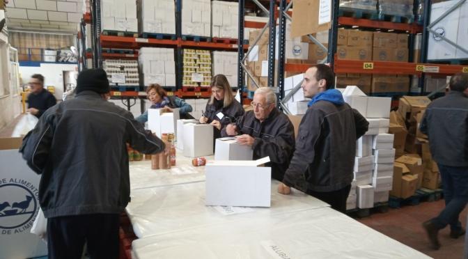 El Banco de Alimentos de La Rioja ha hecho entrega de 15.562 kilos de alimentos para los más vulnerables