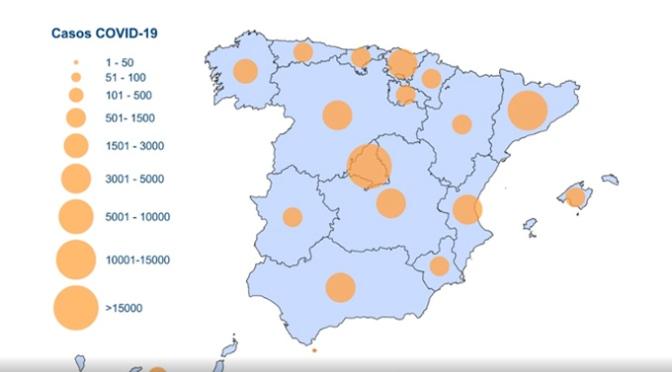 Más de 8.578 positivos en las últimas 24 horas en España