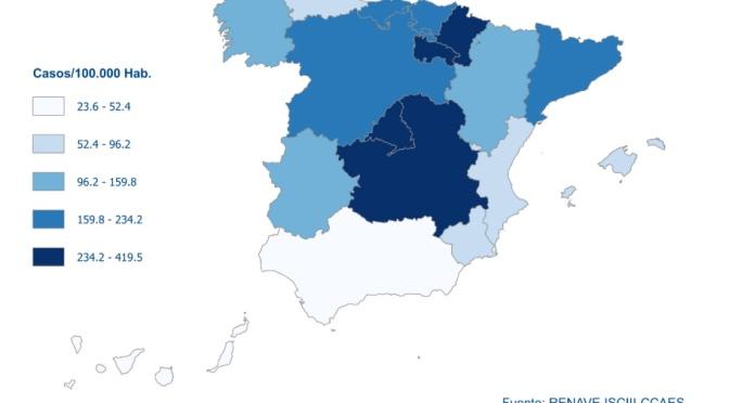 Los casos totales por COVID-19 en España superan los 78.000