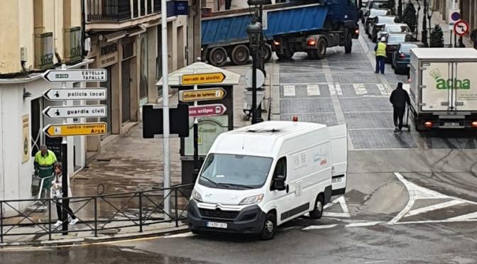 Medidas en materia de limpieza viaria adoptadas en la ciudad de Calahorra