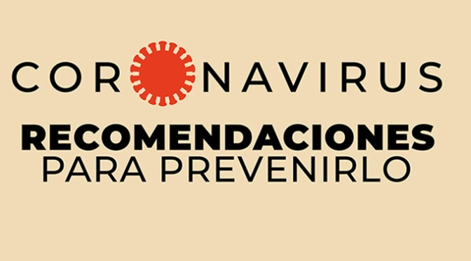 Recomendaciones a la ciudadanía para la fase de contención reforzada del coronavirus