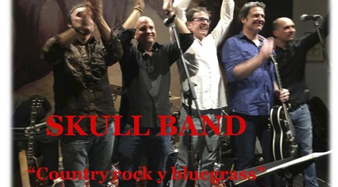 Skull Band este sábado en TARDES de MúSICA Y VINO en ALDEANUEVA DE EBRO