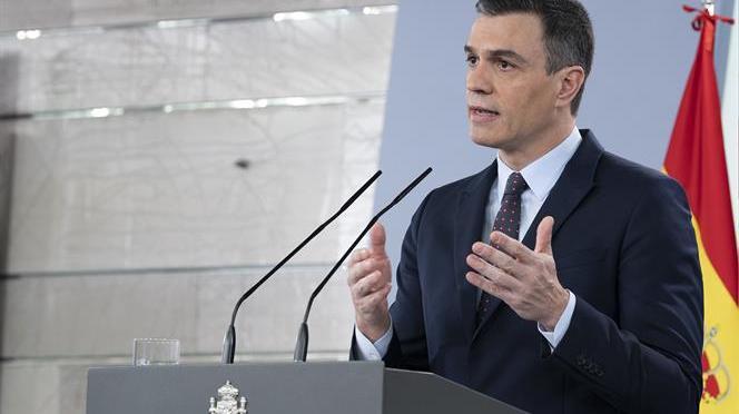 El presidente del Gobierno anuncia una nueva prórroga del estado de alarma