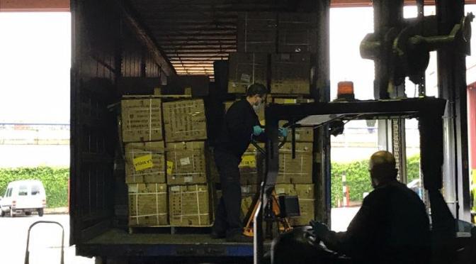 En el almacén intermedio del Gobierno de La Rioja se han recibido más de 1,35 millones de unidades de material sanitario