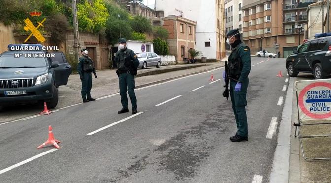 La Guardia Civil en La Rioja intensifica los servicios durante la Semana Santa.