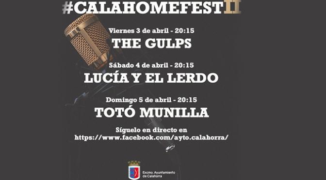 Nueva cita con el #calahomefestII