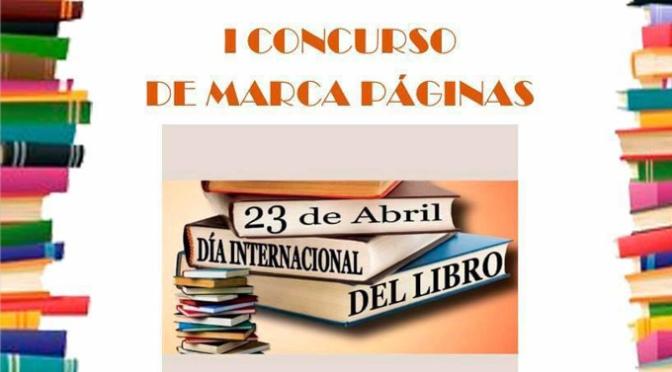 I Concurso de Marca páginas con motivo del Día Internacional del libro