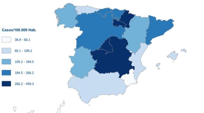 En España, los casos ya superan los 102.000 positivos
