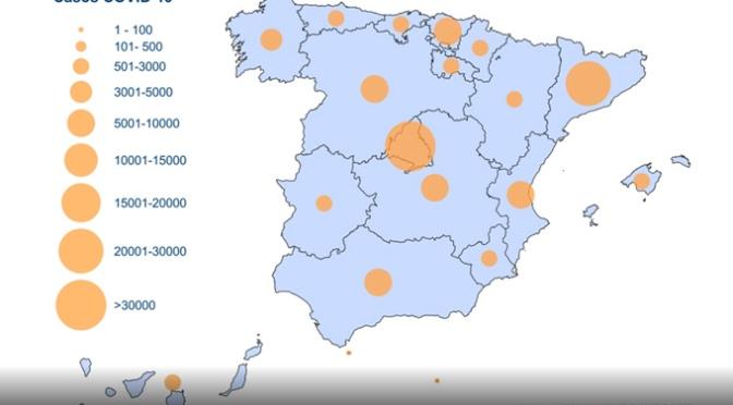 Más de 8.000 confirmados en las últimas 24 horas lo que hace que en España se llegue a los 110.238 casos