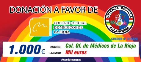 DONACIÓN COLEGIO OFICIAL DE MÉDICOS